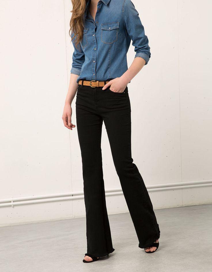 Pantalón Bershka campana. Descubre ésta y muchas otras prendas en Bershka con nuevos productos cada semana