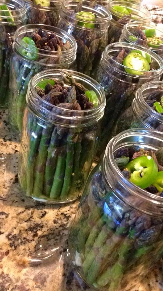 Recipes: Spicy Pickled Asparagus