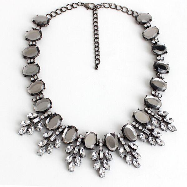 Mirror Stones Necklace