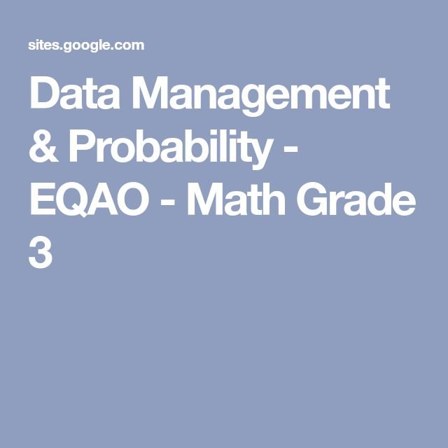 The 30 best EQAO grade 3 images on Pinterest | Calculus, Educational ...