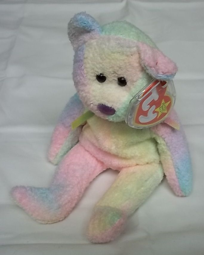 This Beanie Baby is in excellent shape and has all original tags. It includes a plastic tag protector.