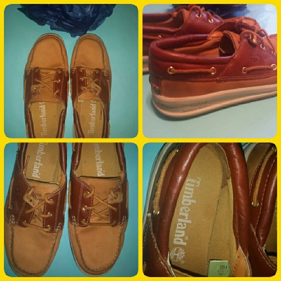 Timberland's Shoes Brown Timberland shoes size 8M in good condition Timberland Shoes Flats & Loafers