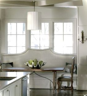 Awesome banquette seating ideas for your kitchen 10