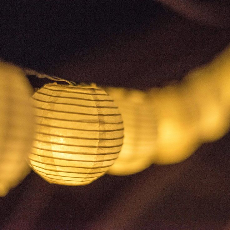 Solar Powered Lanterns String Lights
