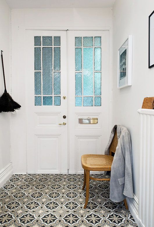 tiled entryway / sfgirlbybay & 36 best images about The Floor Tile Makes It on Pinterest ... Pezcame.Com