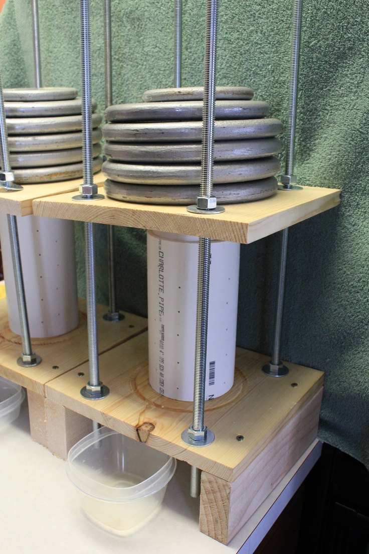 A Homemade Cheese Press Beats The Expensive Ones This