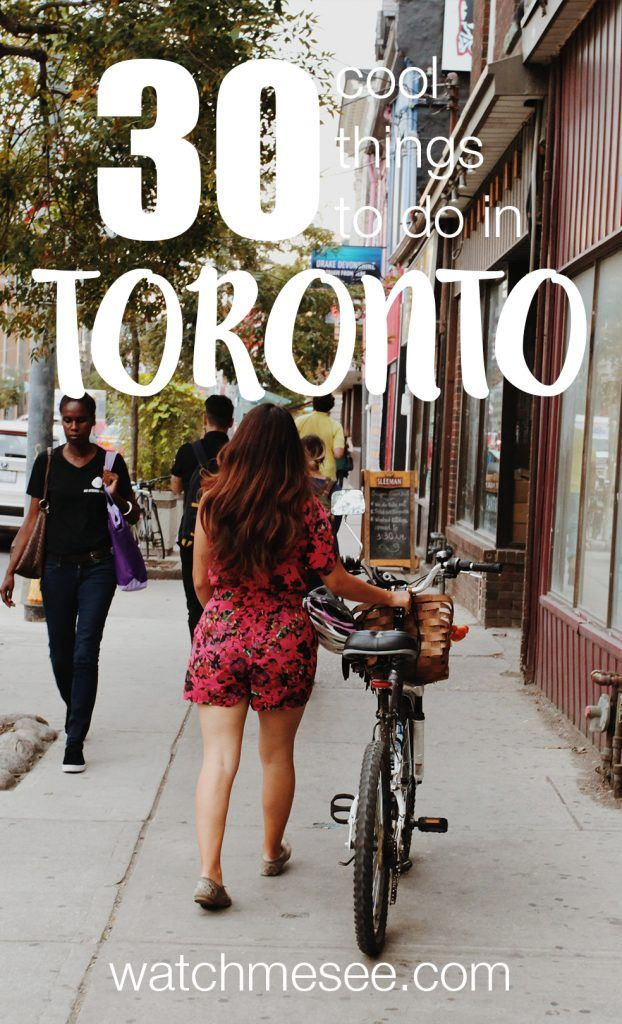 Toronto is a city best enjoyed from a local perspective - here are 25 things to do in Toronto, including what to see, where to eat and local favourites!