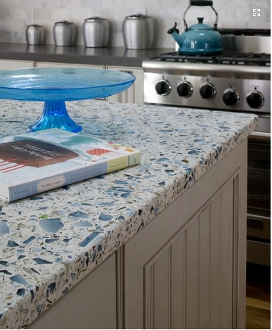 Recycled Countertops : ... Recycled Glass on Pinterest Bottle, Recycled glass countertops and