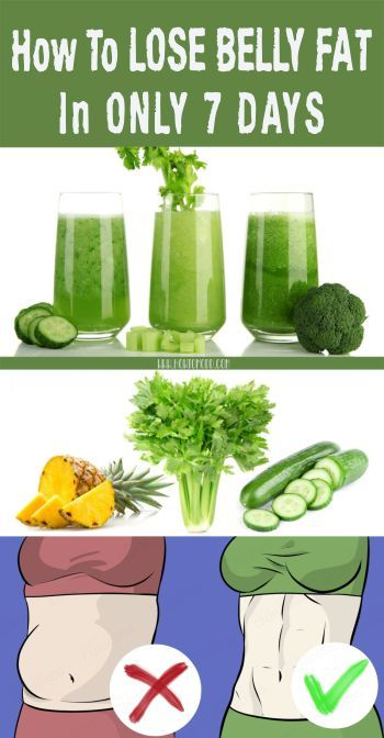 Lose Belly Fat in 7 Days With This Incredible Drink