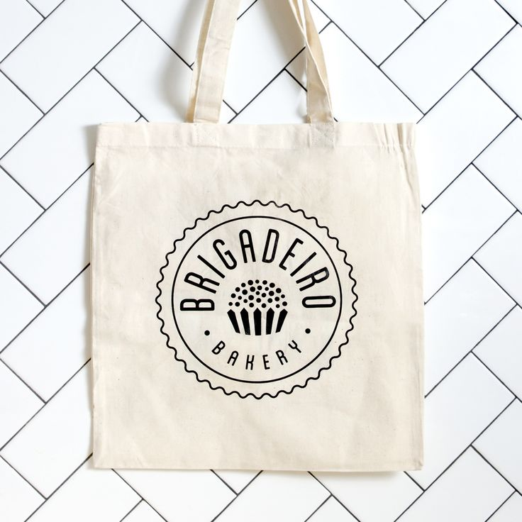 Brigadeiro Bakery is also fashion! Our tote bag is made of cotton and perfect sized to running any errands. - Ships to continental USA via USPS. Rather, pickup? Select PICKUP as the delivery method an