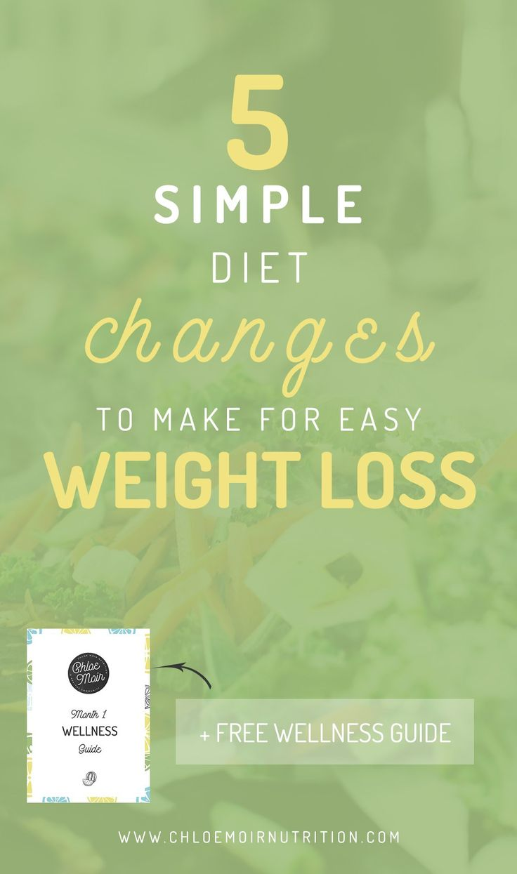 5 Simple Diet Changes to Make for Easy Weight Loss  Nutrition Tips | Health Tips | Advice | Diet Tips | Fitness Tips | Weight Loss Tips | Natural | How to Lose Weight | Easy Weight Loss | Easy Health | Lose Fat