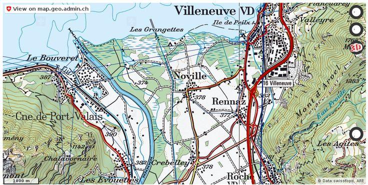 Noville VD Verkehr Stau Staumeldungen http://ift.tt/2iqvQsZ #karten #schweiz