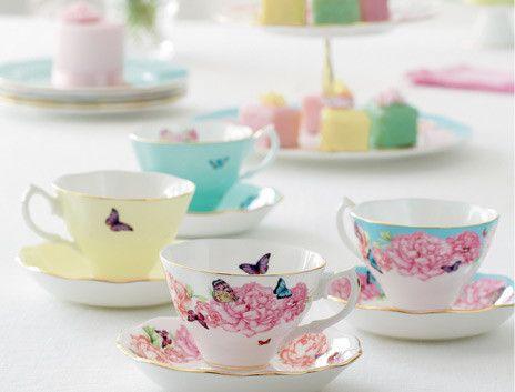 Miranda Kerr by Royal Albert. Delicate & Sophisticated China for High Tea.