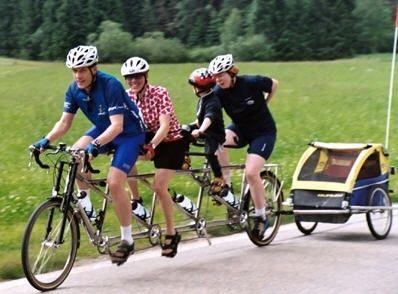 tandem bicycles | Tandem bikes : triples, quads... - Tandem bikes - Tandem,bikes,triples ...