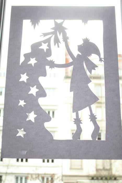 décor de fenêtre dans les petits papiers de Lisele