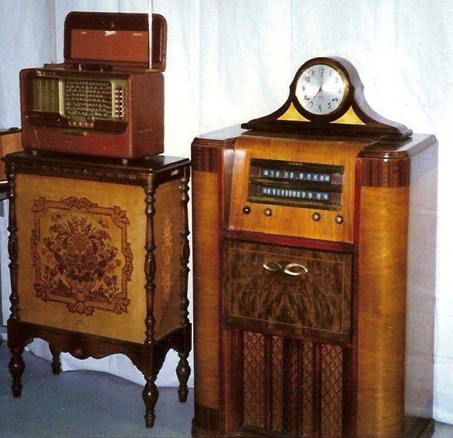 Consoles and Zenith Transoceanic.