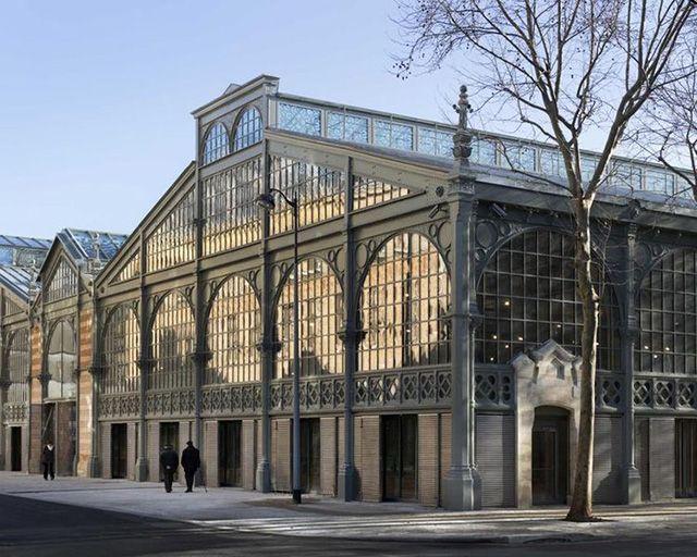 Paris 3e - Studio Milou restores the historic Carreau du Temple in Paris, rue Eugène-Spuller
