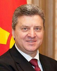 Gjorge Ivanov Président de la république de Macédoine https://fr.m.wikipedia.org/wiki/Gjorge_Ivanov ... https://fr.m.wikipedia.org/wiki/Macédoine_(pays)
