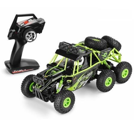 Best Seller 18628 2.4G 6WD Bigfoot Remote Control RC Car Off-road Vehiclerc 1:18 Rock Crawler Racing Car Buggy VS A959-B