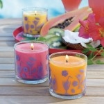 Happy Hour Scented Candle Trio