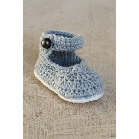 Baby booties Mary Jane