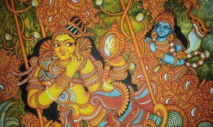Mural paintings klairvoyant craftastic