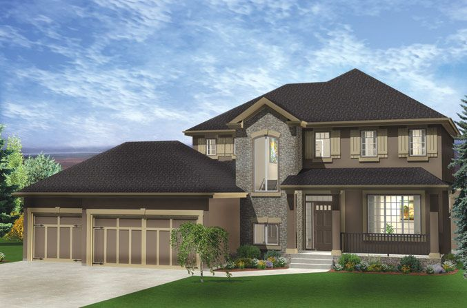 Strathcona | New 2-Storey Homes Calgary | Baywest