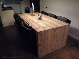 Afbeeldingsresultaat voor eethoek steigerhout