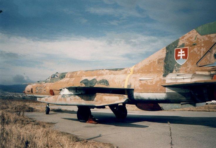 Mig-21MF (Fishbed-J) 9814 Slovak AF