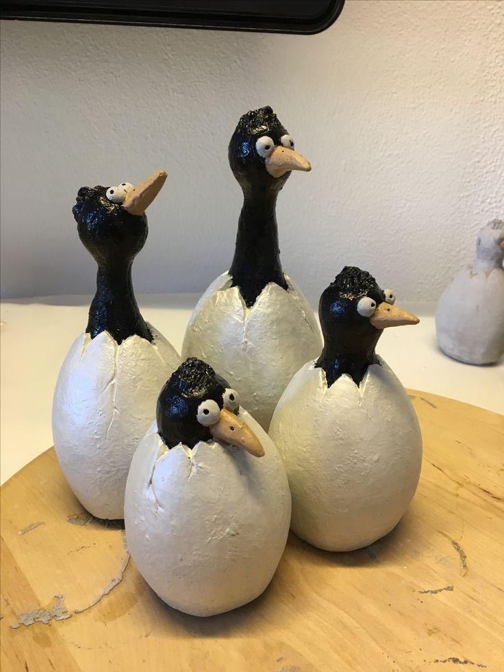 Fugle i æg
