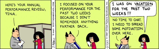 workplace humor performance appraisal - Google Search Workplace - performance reviews