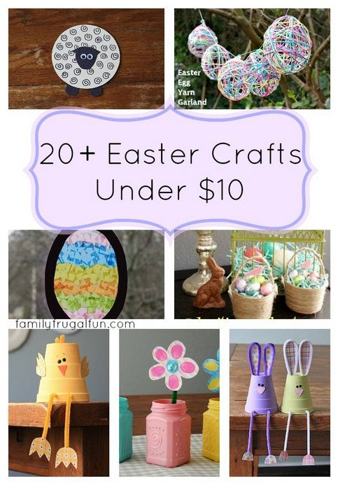 Easter Crafts Kids Can Make that are under $10 - Fun for the kids and easy for moms!!!