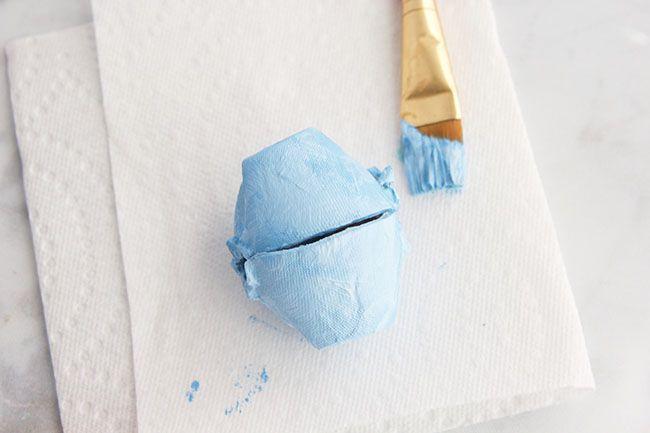 Paint Egg Carton Craft