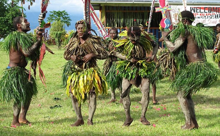 Welcome Sing-Sing, Trobriand Islands.