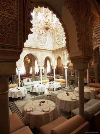 Google Image Result for http://cache2.allpostersimages.com/p/LRG/21/2161/51ECD00Z/posters/frost-lee-interior-view-of-moroccan-restaurant-la-mamounia-hotel-marrakech-morocco-north-africa.jpg
