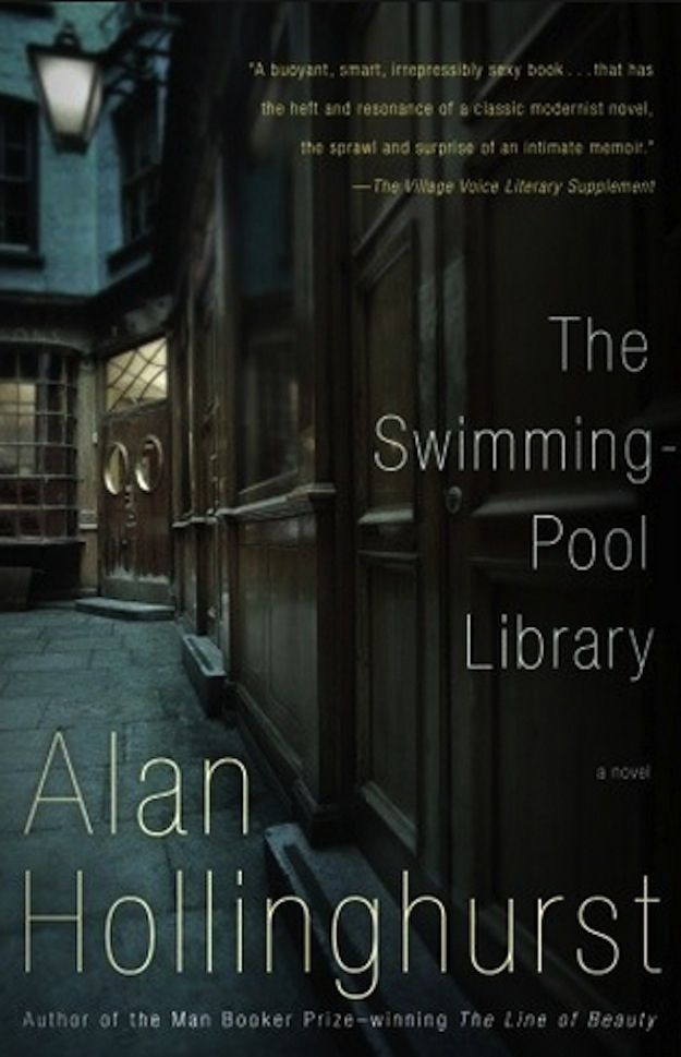 The Swimming Pool Library by Alan Hollinghurst | 27 Must Have Queer Summer Reads