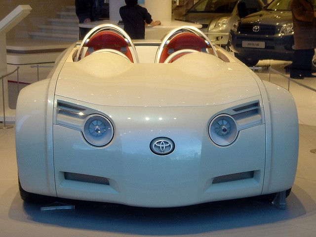 Toyota Concept Car -...Is it just me or does it look like a mouse ?
