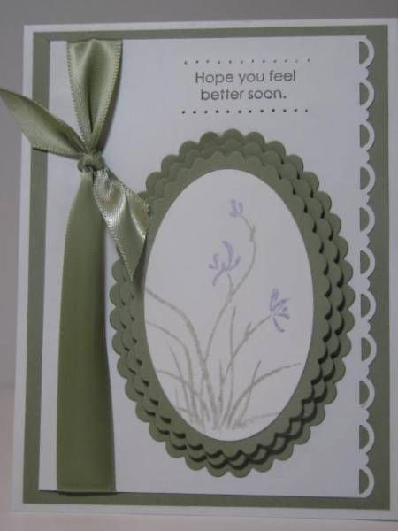 Kind & Caring Thoughts Lavender... kh by Kelly H - Cards and Paper Crafts at Splitcoaststampers