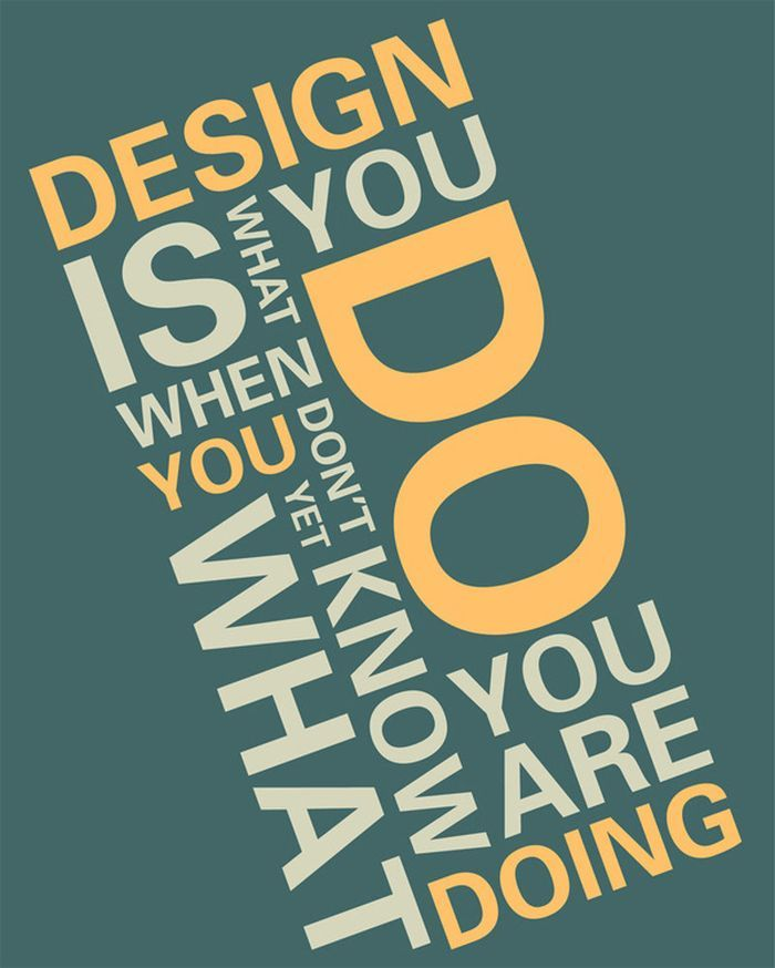 Inspirierende Poster Mit Zitaten über Design