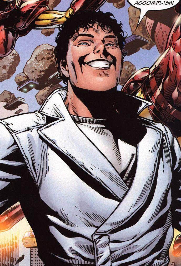 The Beyonder is a mutant, an Inhuman victim of the Terrigen Mists, and the totality of his own Universe. When he is accidentally brought to the Marvel-616 Universe he exhibits reality bending powers that let him do whatever he wants. Strangely, what he wants most often is to wear all-white outfits and force Marvel's top-selling heroes to fight each other.
