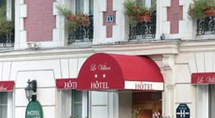 Le Villiers Paris Located 1.5 km from the Palais des Congrès, this hotel offers soundproofed and air-conditioned rooms with free Wi-Fi. Parc Monceau is a 15-minute walk away.  Guest rooms at Le Villiers are simply furnished and have parquet floors.