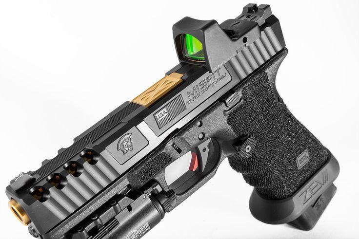 """ZEV """"Misfit"""" custom Glock"""