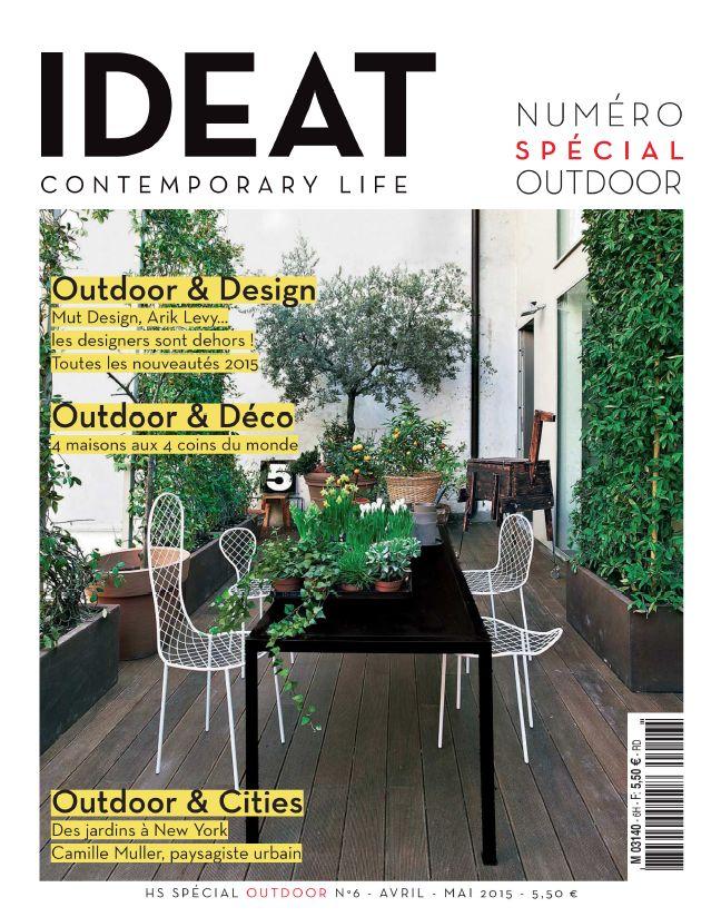 #IDEAT le spécial outdoor est arrivé ! Contemporary lIfe #presse #outdoor #outdoorfurniture #mobilier