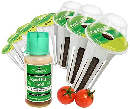 Miracle-Gro AeroGarden Red Heirloom Cherry Tomato Seed Pod Kit - 7-Pods-  * For more information, visit now : Garden Seeds