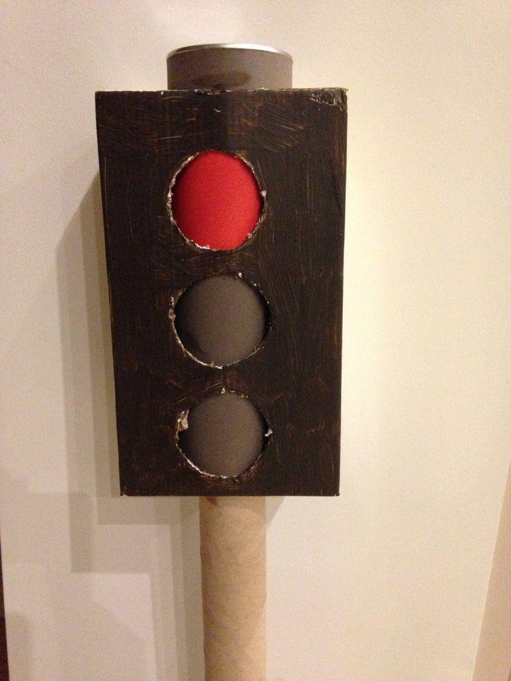 Андреев, объемная открытка светофор