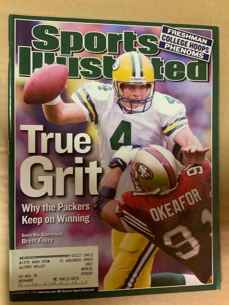 Sports illustrated December 23, 2002 Brett FavreTrue Grit