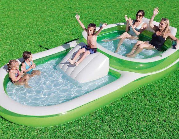 Bestway Fun Play Basket Pool Inflatable Kids Family summer garden sport activity