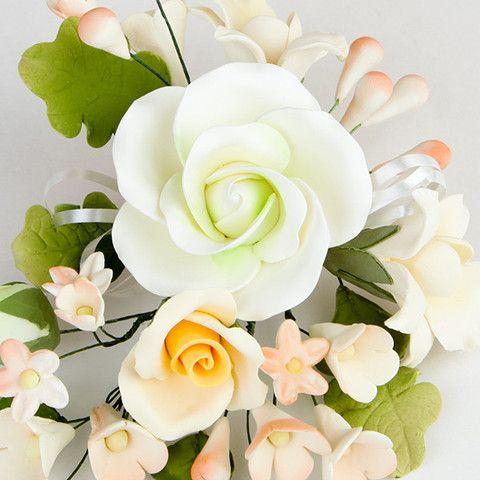 Большой чайной розы спрей - Mix Green