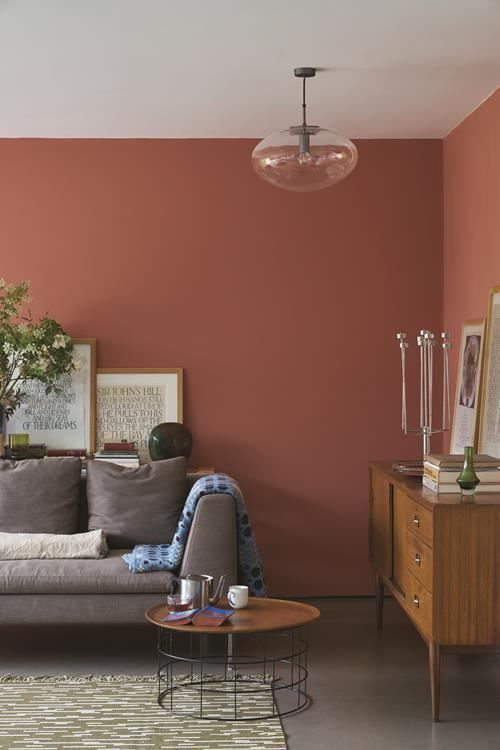 Image Result For Red Earth Farrow And Ball Woonkamer