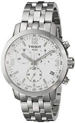 Tissot Men's T0554171101700 PRC 200 Analog Display Swiss Quartz Silver Watch
